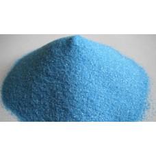 Цветной песок голубой (1 кг)